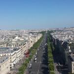 Pogled sa Trijumfalne kapije
