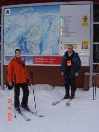 Lojkerbad, skijanje
